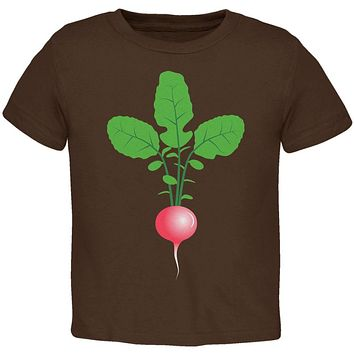 Halloween Vegetable Radish Costume Toddler T Shirt