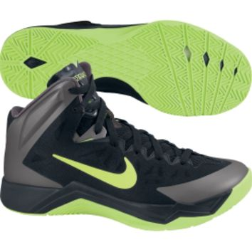 Nike Men's Hyper Quickness Basketball Shoe - Black/Green | DICK'S Sporting Goods