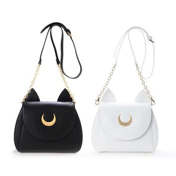 Sailor Moon Kawaii Luna Shoulder Bag Purse