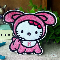 Hello kitty Baby iron on patch E0247