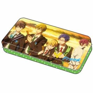 Free! - Can Pen Case C ~ Free Iwatobi Swim Club **Preorder**