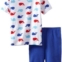 New Jammies Big Boys' Whales Pajama Short Set