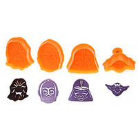 3D Cookie Cutter Cake Decorating Star Wars Design Set Of 4 Pieces