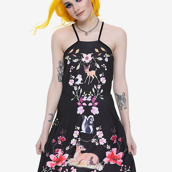 Disney Bambi Floral Dress