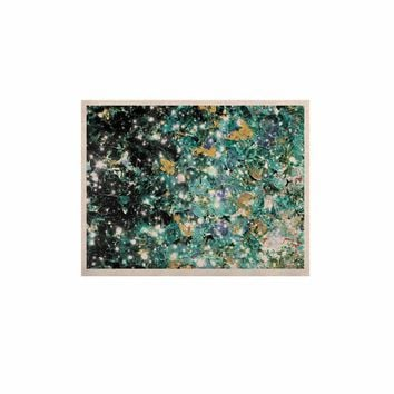 """Ebi Emporium """"Minty Way"""" Green Teal Painting KESS Naturals Canvas (Frame not Included)"""