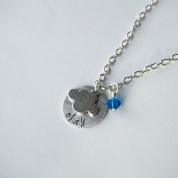 Okay Necklace Inspired by The Fault In Our Stars