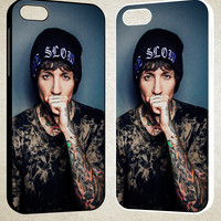Oliver Sykes Bring Me the Horizon and Signature F0543 iPhone 4S 5S 5C 6 6Plus, iPod 4 5, LG G2 G3, Sony Z2 Case