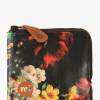 Mi-Pac Coin Holder - Rose Tapestry Black