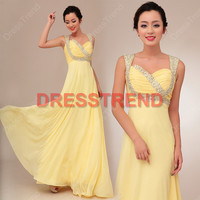 2013 Prom Dress - Cheap Prom Dress / Prom Dress 2013 / Evening Dress 2013 / Formal Evening Dress For Women / Yellow Prom Dress