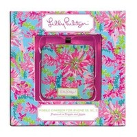 Lilly Pulitzer Mobile Charger 8-pin - Trippin and Sippin