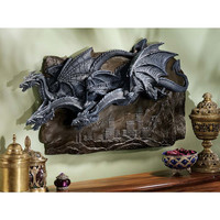 Park Avenue Collection Morgoth Castle Dragons