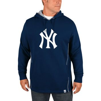 New York Yankees  Majestic Navy Cooperstown Left/Righty Pullover Hoodie