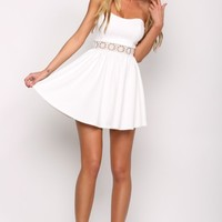 HelloMolly | Marilyn Monroe Dress White