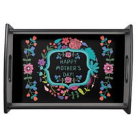 Gorgeous Mother's Day Breakfast Tray Floral