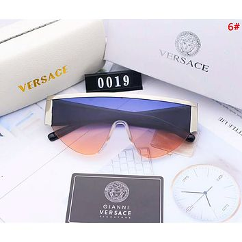 Versace Fashion New Polarized Women Men Sun Protection Travel Drive Eyeglasses Glasses 6#