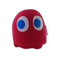 """Pac-Man Plush Toy Video Edition - Pac-Man Ghost Red (6"""")"""