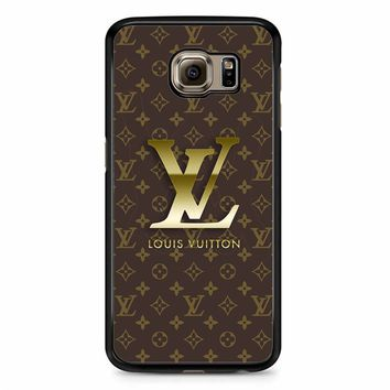 Lv Camo Samsung Galaxy S6 Edge Case
