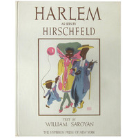 Al Hirschfeld's Harlem, First Edition