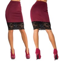 new Women Slim Office Ladies Pencil Skirts size sml