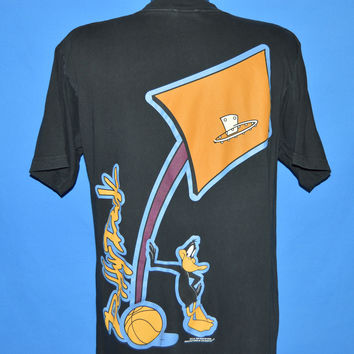 90s Daffy Duck Looney Tunes Basketball t-shirt Large