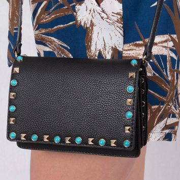 Get The Details Black Purse