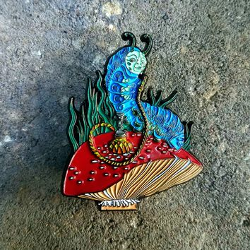 Amanita Toker - Absolem Hatpin Original Edition