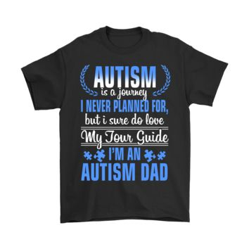 QIYIF Family - Autism Is A Journey I Never Planned For, But I Do Love Shirts