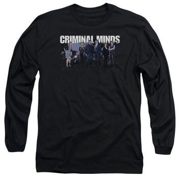 CRIMINAL MINDS/SEASON 10 CAST-L/S ADULT 18/1-BLACK