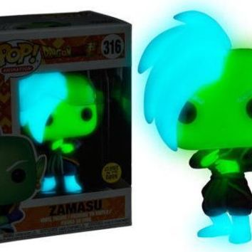 Exclusive FUNKO POP Official Glow in the dark Dragon Ball Super - Zamasu Vinyl Action Figure Collectible Model Toy In Box