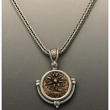 Ancient Coin Jewelry Necklace