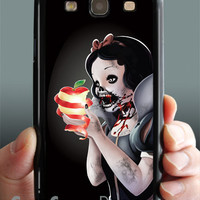 Zombie Samsung galaxy s3 case, Samsung phone case for Samsung galaxy s3. black phone case.
