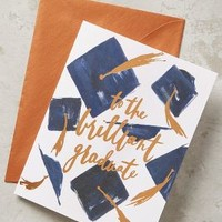 Hats Off Card by Anthropologie in Navy Size: One Size Books