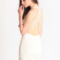 Finesse Criss Cross Dress - $26.50 : ThreadSence, Women's Indie & Bohemian Clothing, Dresses, & Accessories
