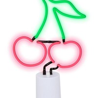 Large Cherry Shaped Neon Light by Sunnylife Australia