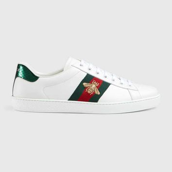 Gucci White bee ace Sneakers