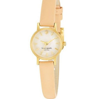 Kate Spade New York Tiny Metro Leather Strap Watch