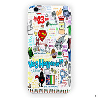 1D One Direction Boy Band Quotes (2) For iPhone 6 / 6 Plus Case
