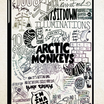 ARCTIC MONKEYS BAND LYRICS QUOTE Z0914 iPad 2 3 4, iPad Mini 1 2 3, iPad Air 1 2 , Galaxy Tab 1 2 3, Galaxy Note 8.0 Cases