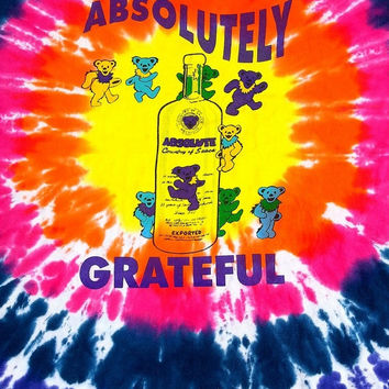 ON SALE GRATEFUL Dead Jerry Garcia Tie Dye Batik Concert Punk Rock Tour Music 1997 Rock t shirt Size Xl
