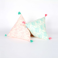 Ice Cream Triangle Cushion Set