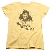 Grease - Brusha Brusha Brusha Short Sleeve Women's Tee