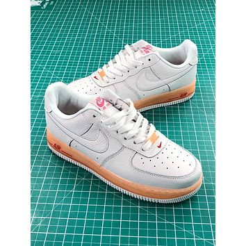 Nike Air Force 1 Low Upstep Jelly Orange Sport Shoes - Sale