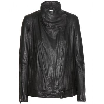 helmut lang - cluster leather jacket
