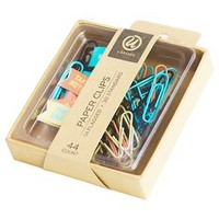 Ubrands Flagged and Regular Paper Clips, 24ct : Target