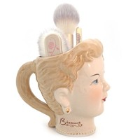 Collectable Besame Girl Brush Holder