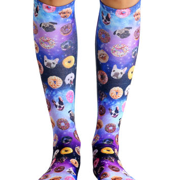 Dog Cravings Knee High Socks