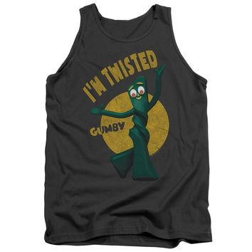Gumby - Twisted Adult Tank Top Officially Licensed Apparel