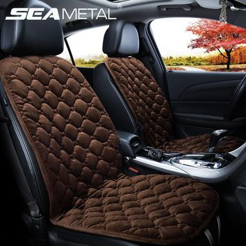 Heated Seat Car 12V Cushion Heating Cover Warm Winter Protection Automatic Temperature Control Electronic Interior Accessories