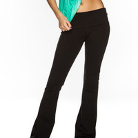 Full Tilt Sport Womens Yoga  Pants Black  In Sizes
