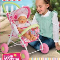 Fisher-Price Little Mommy Baby Doll Stroller